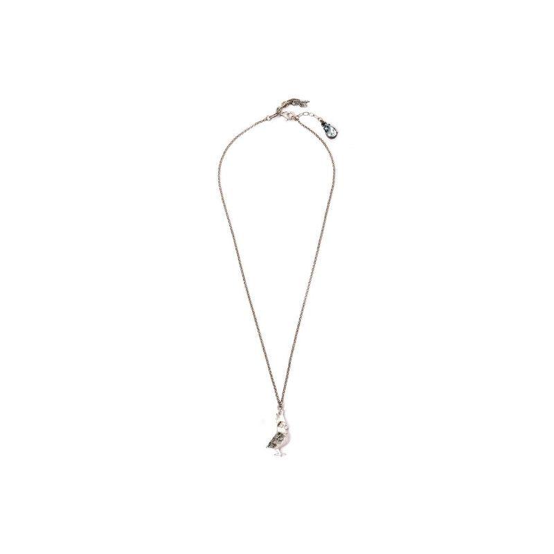 collana cacatua in argento925 Thais Bernardes Gioielli