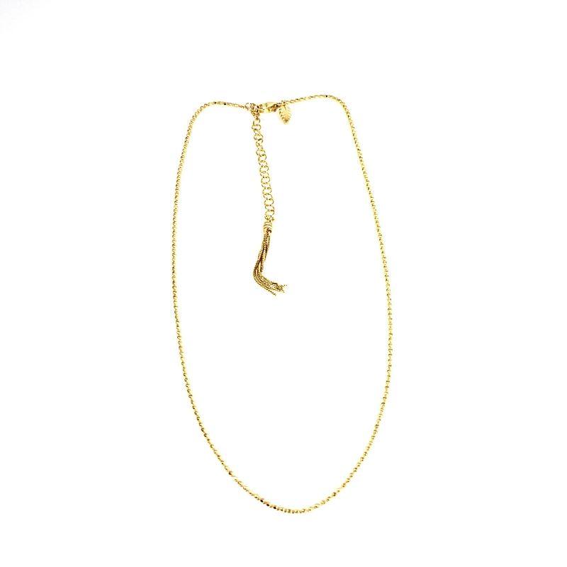 collana nude oro